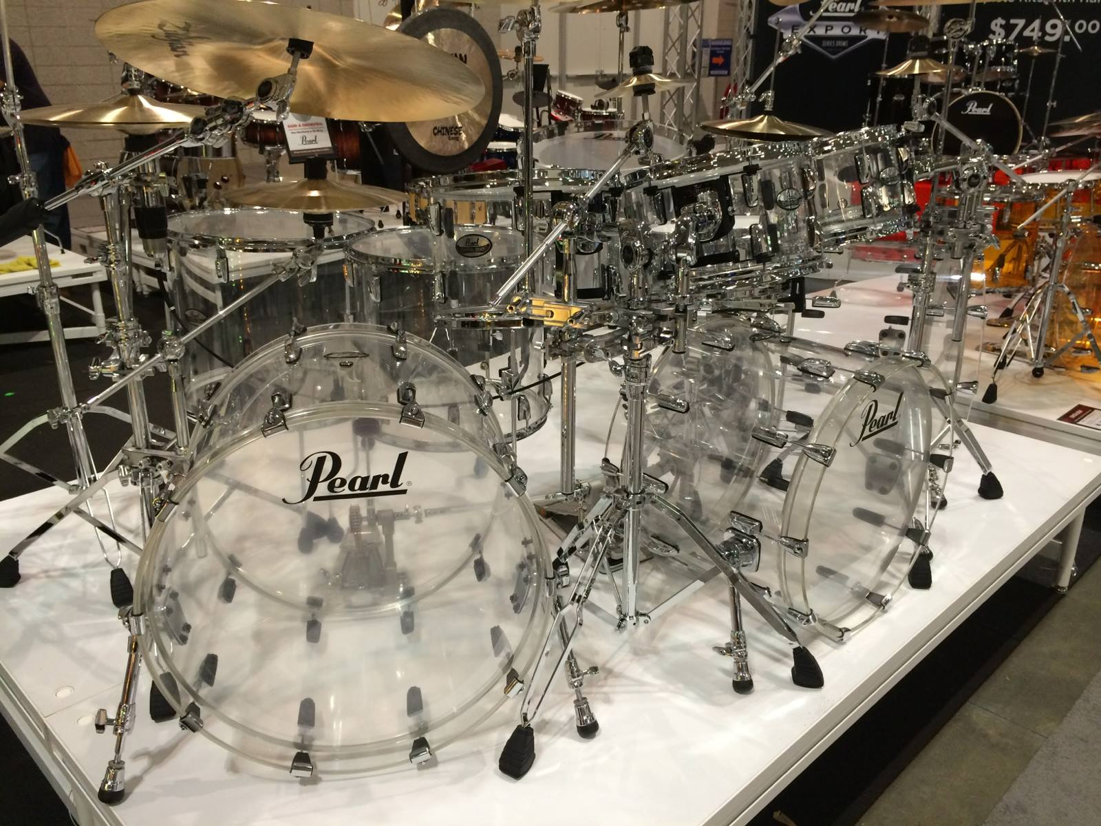 Pearl Crystal Beat at NAMM 2014