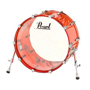 "Pearl 22""x16"" Crystal Beat Bass Drum"